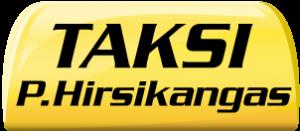 Taksi P. Hirsikangas -logo